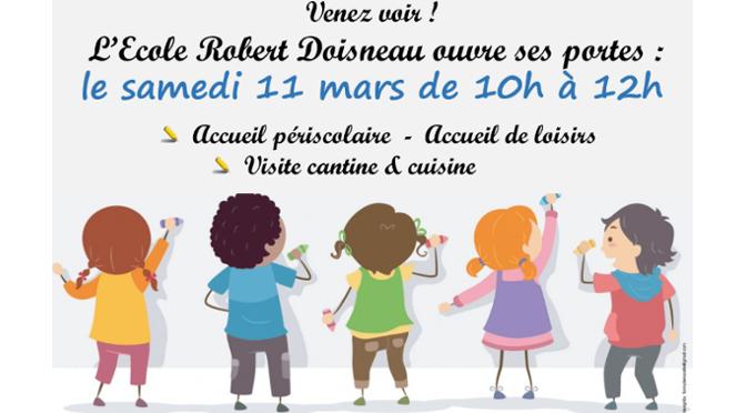 Portes ouvertes à l'école Robert Doisneau
