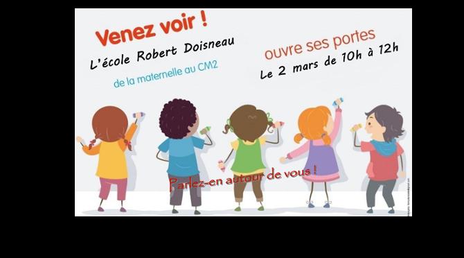 Portes ouvertes Ecole Robert Doisneau Etrelles